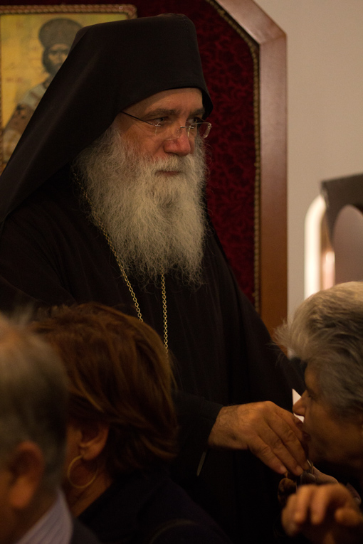 Feast day of Saint Nektarios 2012